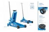 Sollevatore idraulico a carrello Serie classic Blu 112