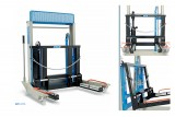 Sollevatore idraulico per ruote gemellari con bracci reclinabili 227/A