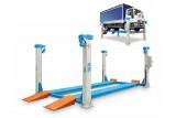 Ponti sollevatori elettromeccanici a 4 colonne per veicoli industriali 405